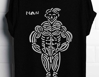 Tribal Inspired Body Figure