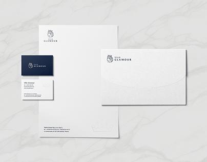 Apartments Villa Glamour | brand identity & web design