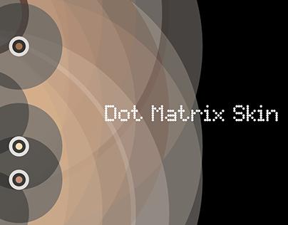 ART | Digital 1033_Dot Matrix Skin