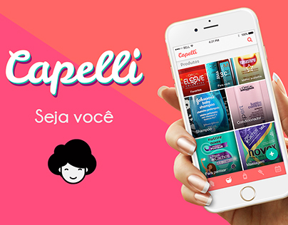 Capelli - Mobile application -haircare - 2016