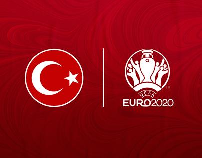Turkey #EURO2020 Social Media Designs