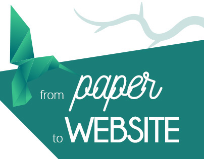From PAPER to WEBSITE