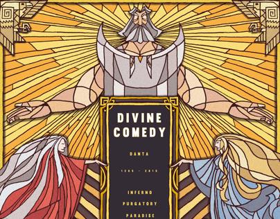 Divine Comedy-Dante's travel