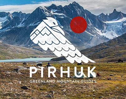 Pirhuk Greenland Mountain Guides - Branding