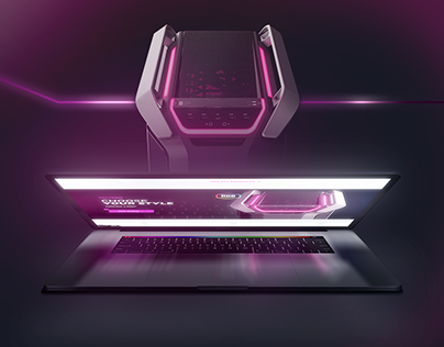 Cooler Master UI Redesign