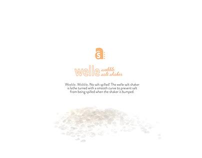 WELLE: Wobble Salt Shaker