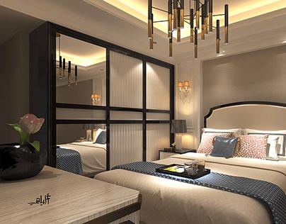Bed room (interior Design)