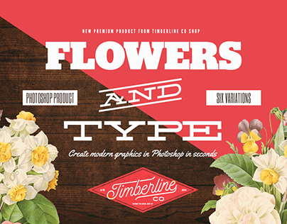 Flowers And Type - Graphics Creator