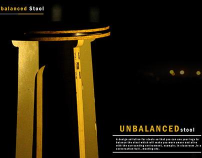 UN-BALANCED STOOL