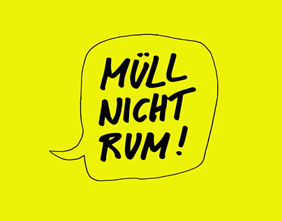 MÜLL NICHT RUM - Animated Campaign Video