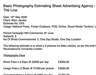 Images that persuade: Estimating sheet