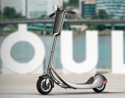 E-scooter for sharing services