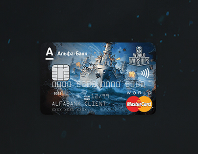 Wargaming + Alfa bank | UX/UI