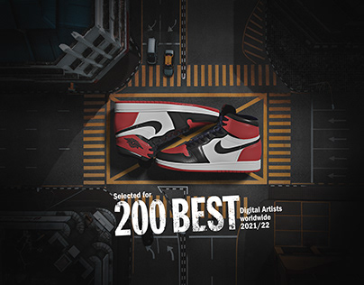 NIKE JORDAN 200 Best Digital Artists