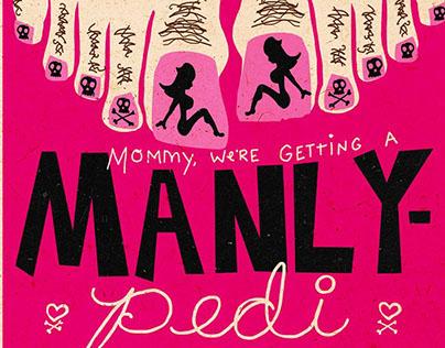 Manly Pedi Spaghetti Toes
