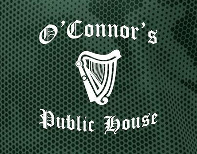 O'Connor's Public House T-shirt Designs