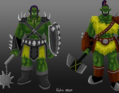 Orcs concept art