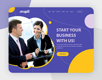 Jessore It - Web Landing Page