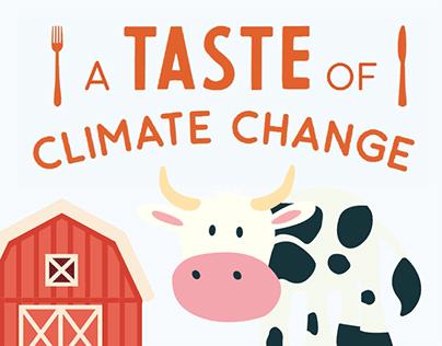 A Taste of Climate Change - Information Design
