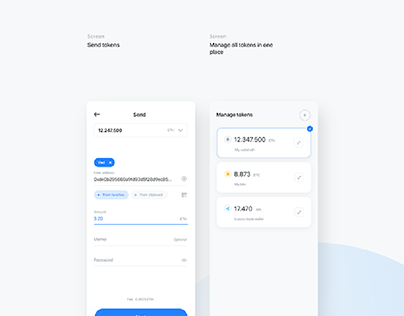 Breew - Crypto blockchain wallet app