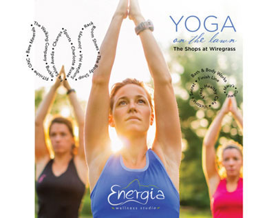 Yoga on the Lawn Campaign