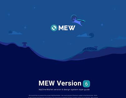 MEW Website Version 6 UI Style Guideline