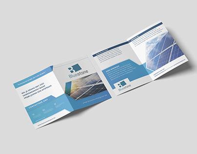 Brochure design Bluestone Belgium