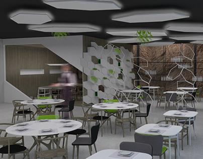Restaurante Concurso Porcelanosa