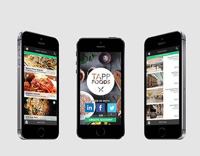 Tapp Foods - Mobile Food Court App