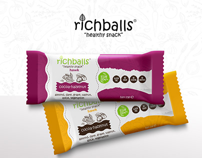 richballs / Package Design