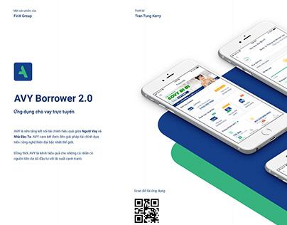 AVY Borrower 2.0 -Ứng dụng cho vay trực tuyến