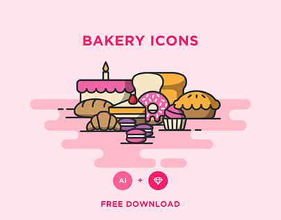 FREE - BAKERY ICONS