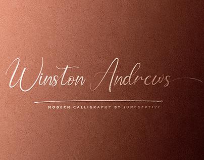 FREE | Winston Andrews Script Font