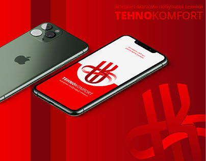 TehnoKomfort. Online store - Logo & Identity
