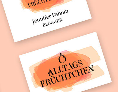 Alltagsfrüchtchen – Branding for a Blogger