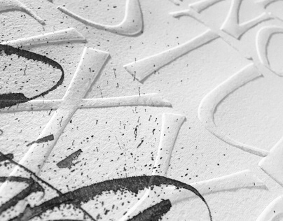 Calligraphic Experiments Vol.2 | Embossing
