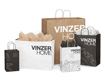 VINZER HOME redesign identity part 1