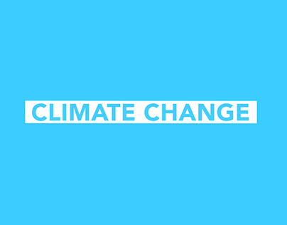 Climate Change Motion Graphics