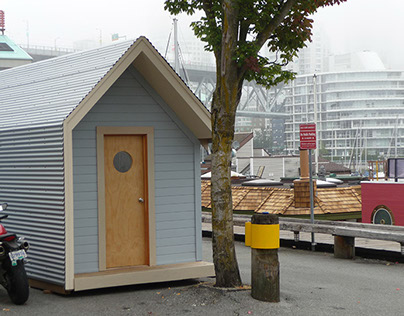 Homes for Less | A tiny home for the homeless