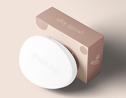 Foot soap packaging design