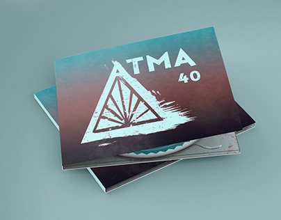 ATMA 40 - Graphic Design of the music CD