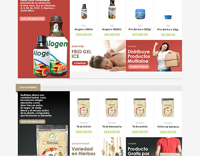 Ecommerce Productos Naturales