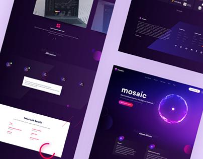 Mosaic.io - Website design case study