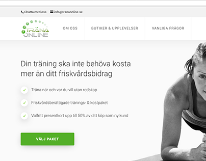 "Logo For ""Träna Online"""