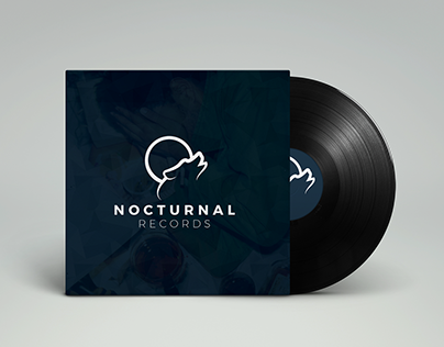 Nocturnal Records Branding