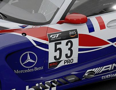 Mercedes AMG GT3 Mercedes Team Oreca #51 #52 #53