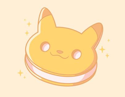 Pika Ice Cream Sandwich