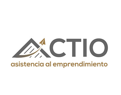 """Logotipo """"Actio - Asistencia al Emprendimiento"""""""