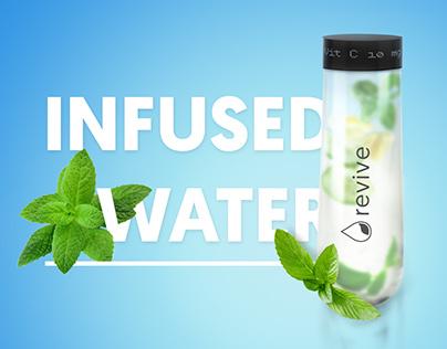 water infuser branding - Revive