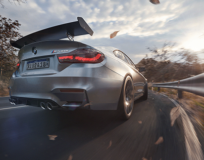 BMW M4 GTS | FULL CGI
